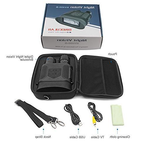 "Astromania Night Binocular / Digital Infrared Night Vision Scope - Hunting 2"" LCD viewing Camera Video"
