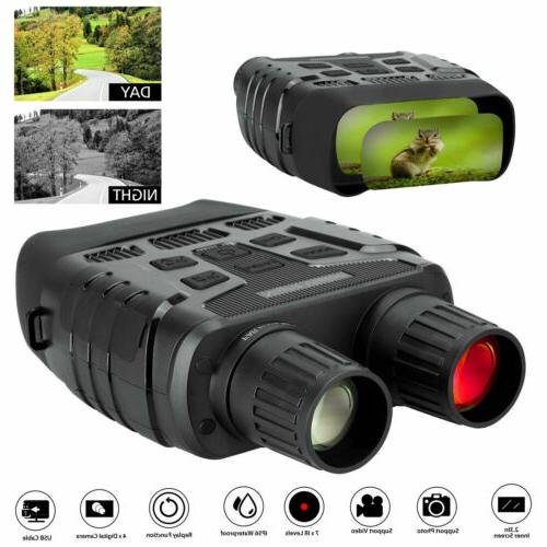 HD Zoom Video Digital Night Vision Infrared Hunting Binocula