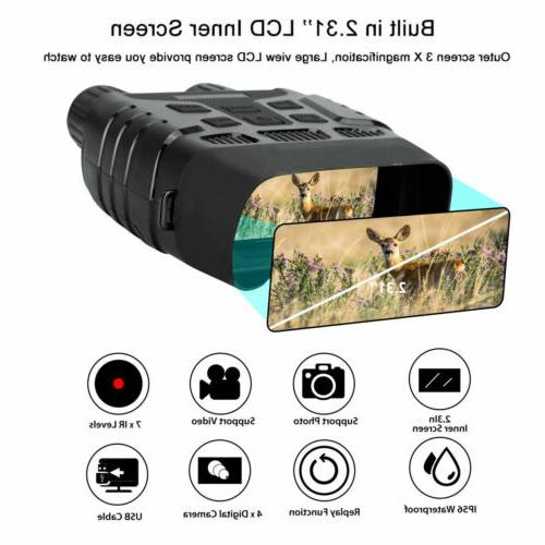 HD Night Vision Hunting Binoculars Scope