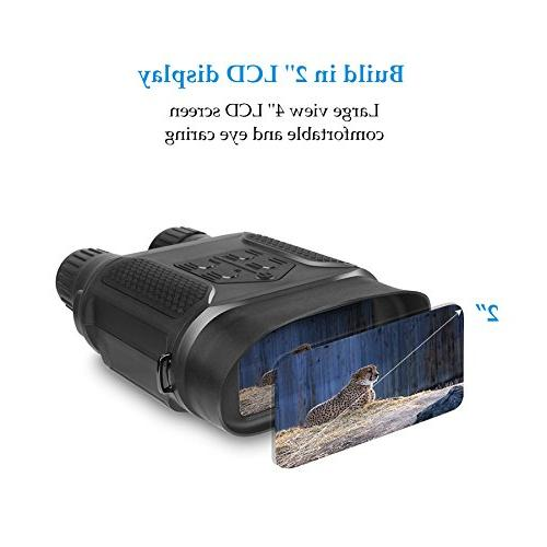 Pinty Night Vision Binoculars Infrared Night 640 480@30FPS, Photo Camera & Camcorder Viewing Distance, Magnification Large