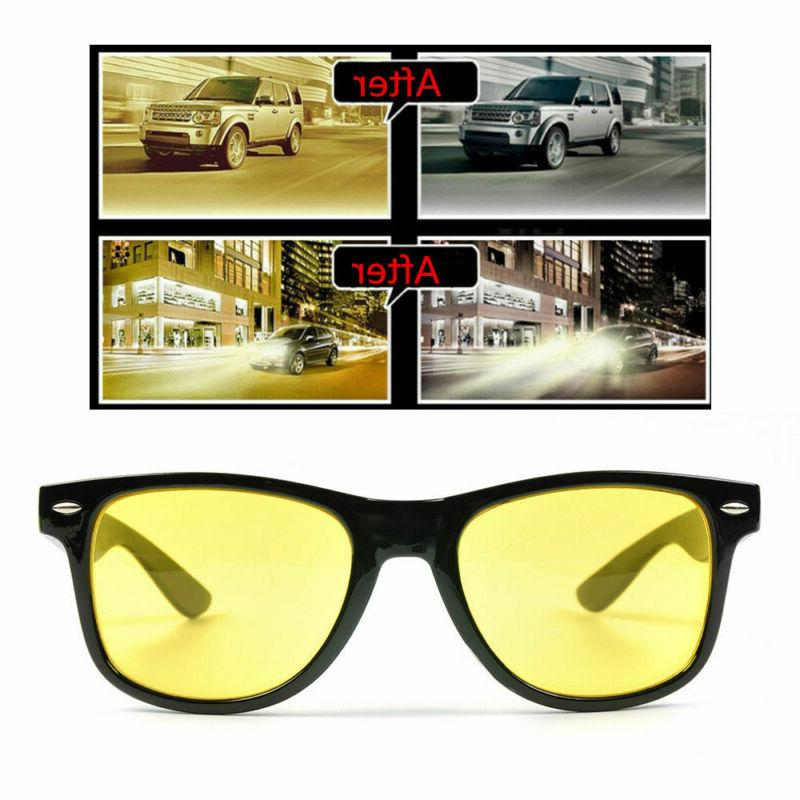 Night Definition Safety Sunglasses Yellow/Black Len
