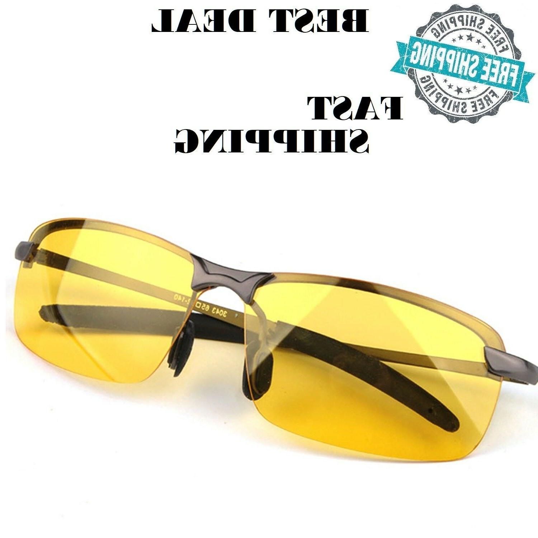 night vision glasses anti glare uv400 eyes