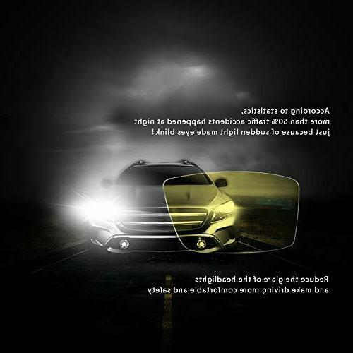 Night Clip-on, Yellow HD Safety Driving