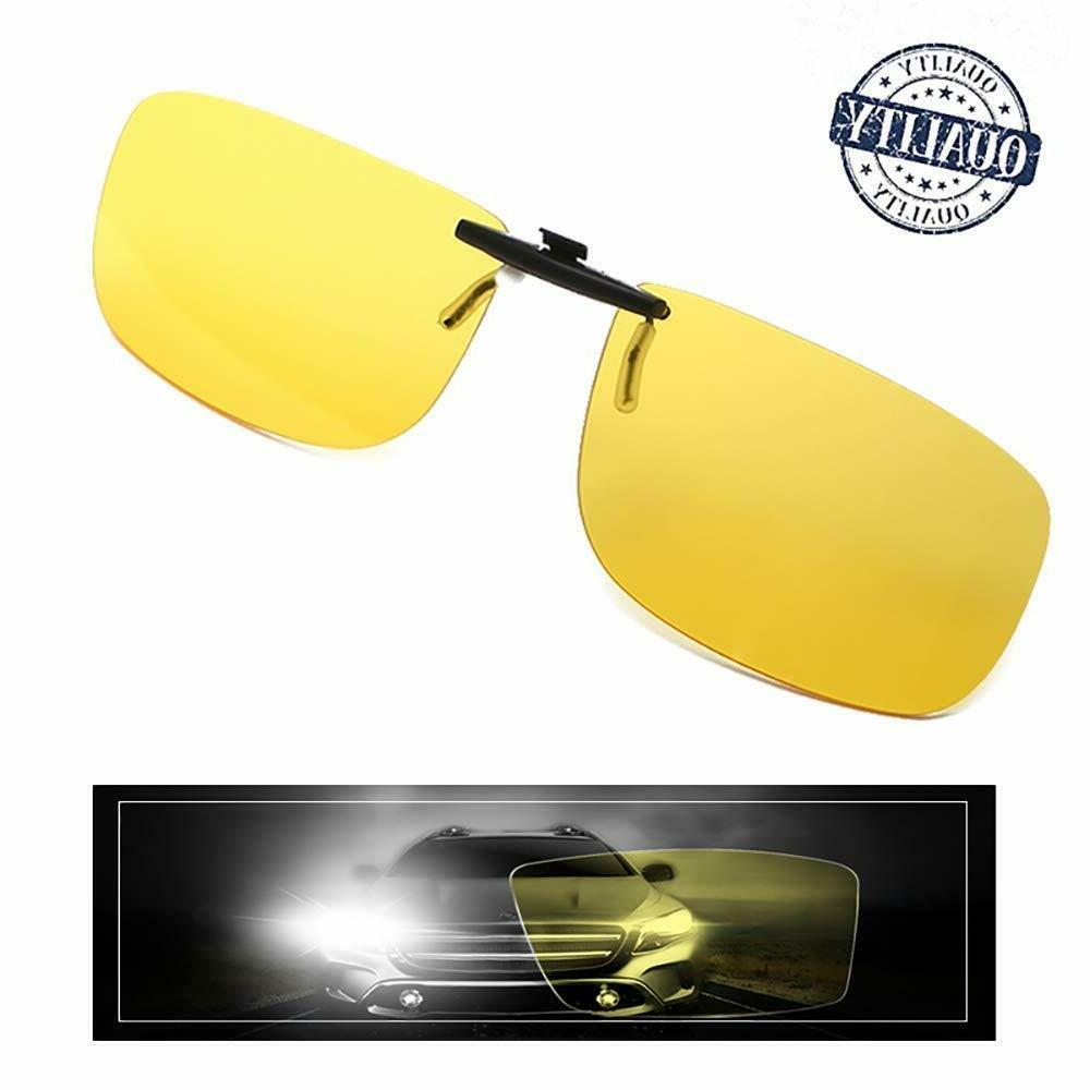 night vision glasses clip on yellow anti