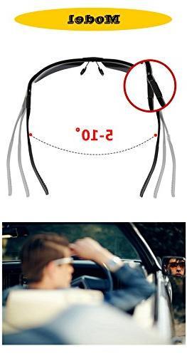 Night Vision Glasses Driving,Polarized Anti Glare Safe Glasses
