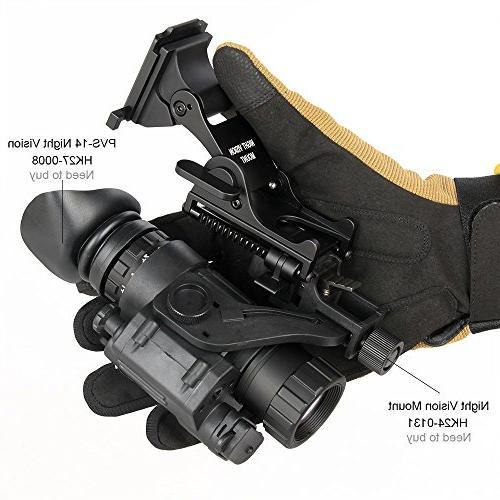 Night Goggles Rhino Mount for PSV-7 PSV-14 Full Tactical Helmet Mount