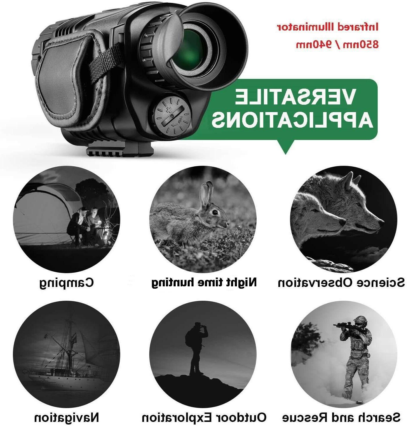 Night Vision video camera Surveillance /