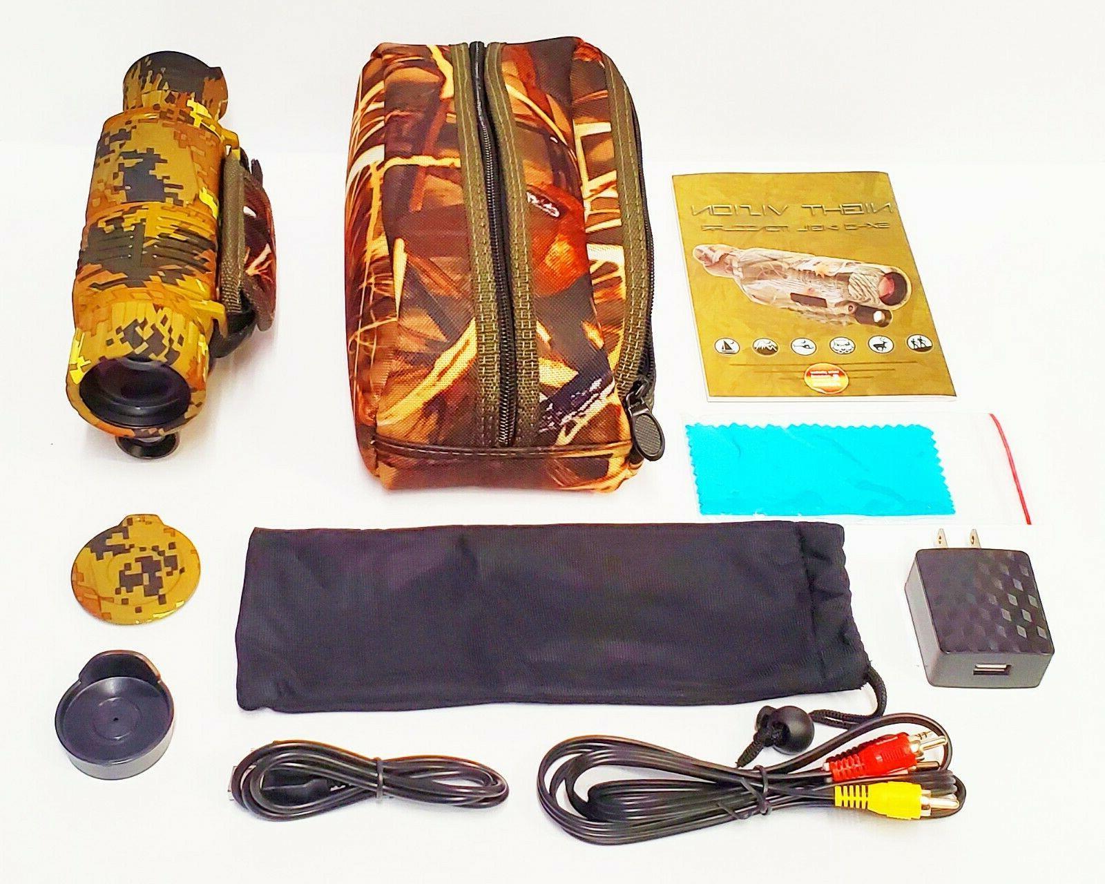 Night Vision video camera Surveillance
