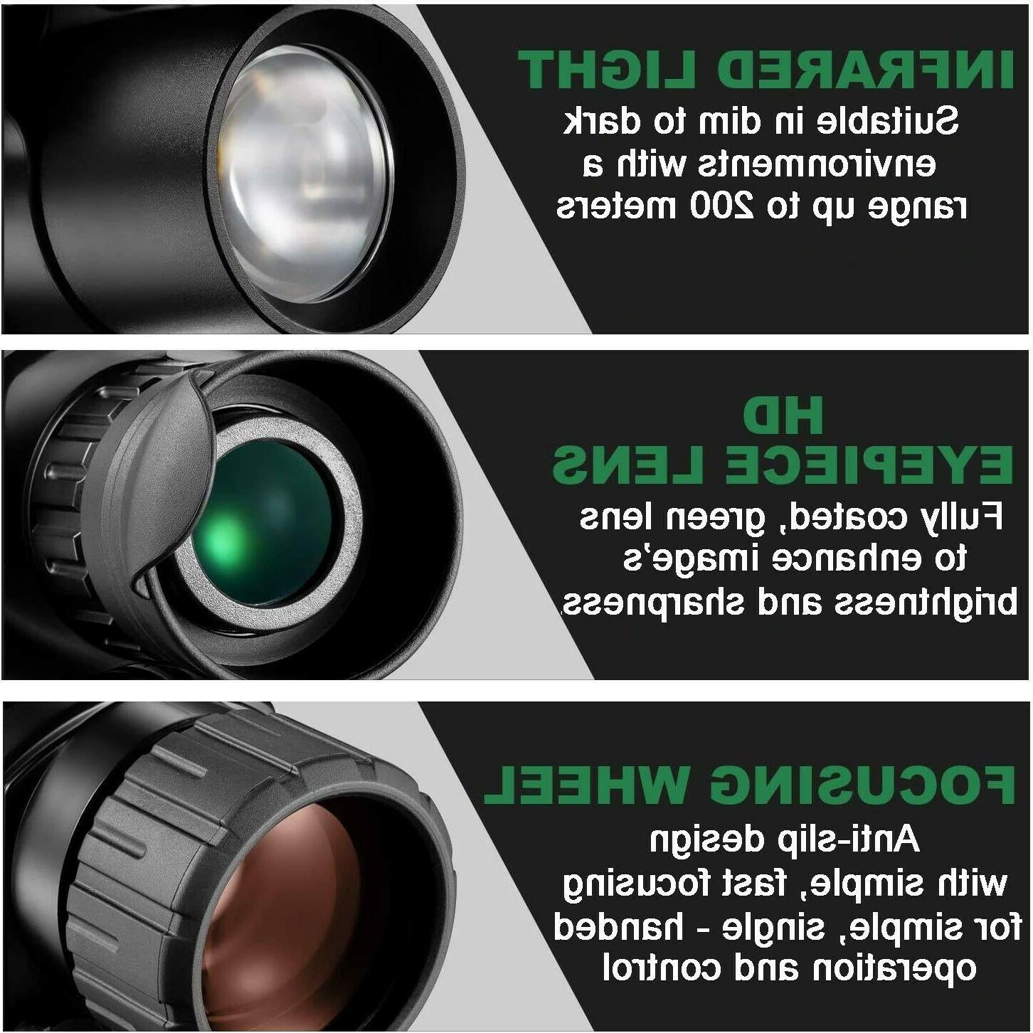 Night INFRARED video 5x40 Monocular Surveillance Hunting