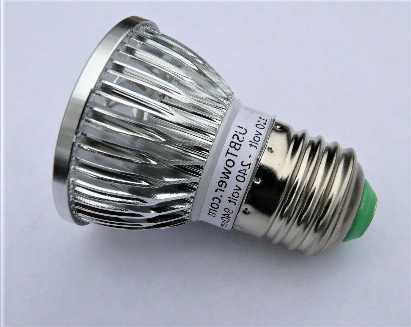 LED Night vision Infrared Illuminator 940nm IR Bulb E27 Invisible,no