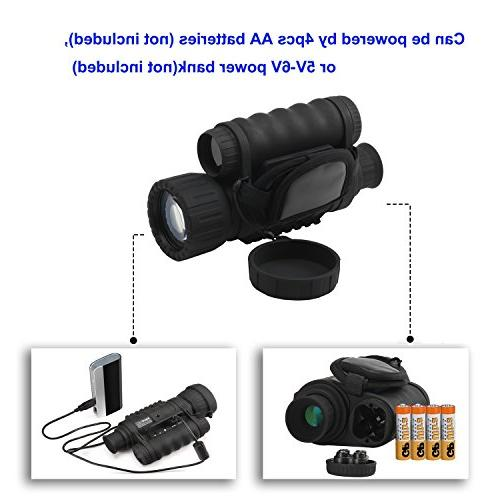 Night Digital Infrared Camera Scope 6x50mm with TFT Hunting Gear Takes 5mp Photo to Detection Distance