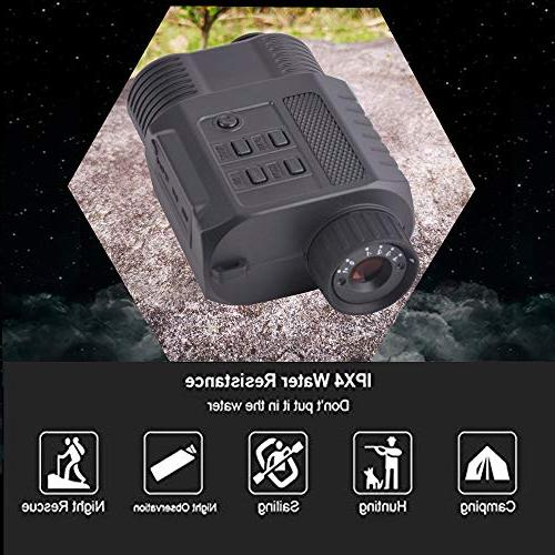 Gosky Vision Infrared Camcorder - 500ft/150M Ideal Surveillance and Wildlife Easy & Video Capture