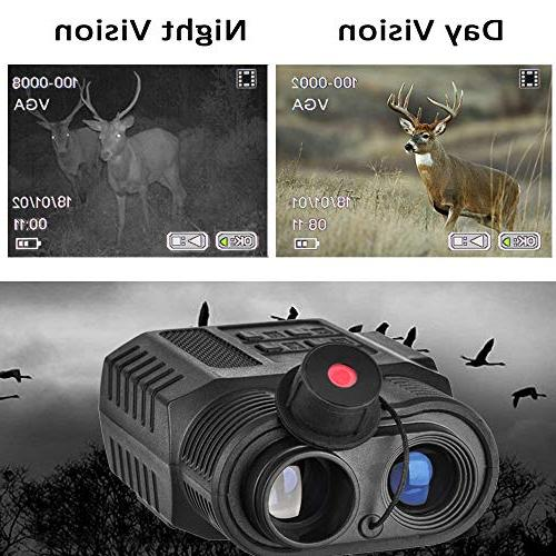 Gosky Night Vision Infrared IR Camcorder - Viewing Range, Ideal for Hunting, and Wildlife Capture