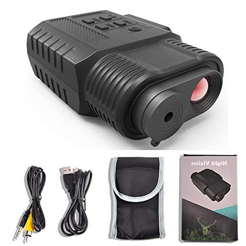 Gosky Vision Monocular, Infrared IR & Camcorder in - 500ft/150M Viewing and - Easy Image & Video Capture