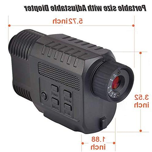 Gosky Night Vision Infrared & Camcorder in Complete Ideal for Hunting, Surveillance and Capture