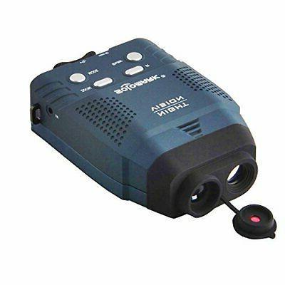 night vision monocular zoom 4x blue infrared