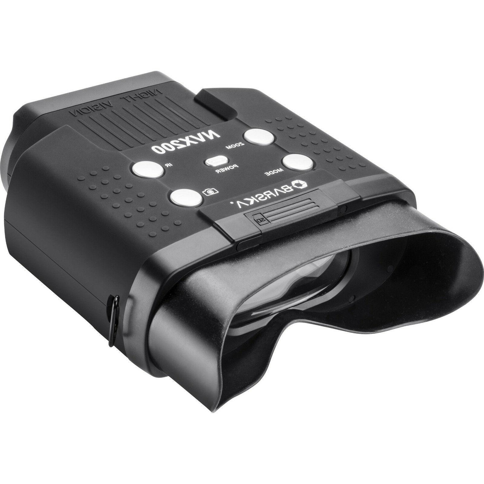 night vision nvx200 infrared illuminator