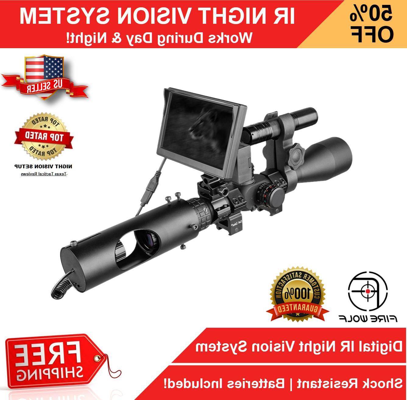 night vision rifle scope hunting sight advanced