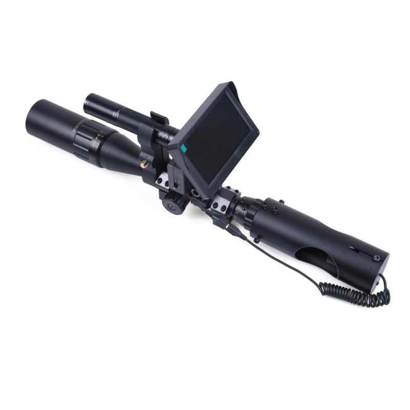 Night Vision Riflescope Scopes Sight Infrared LED Clear