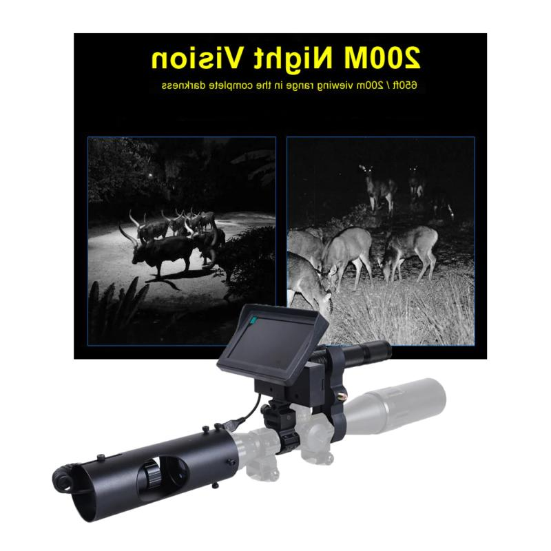 Night Vision Scopes Sight Camera Infrared LED IR Clear