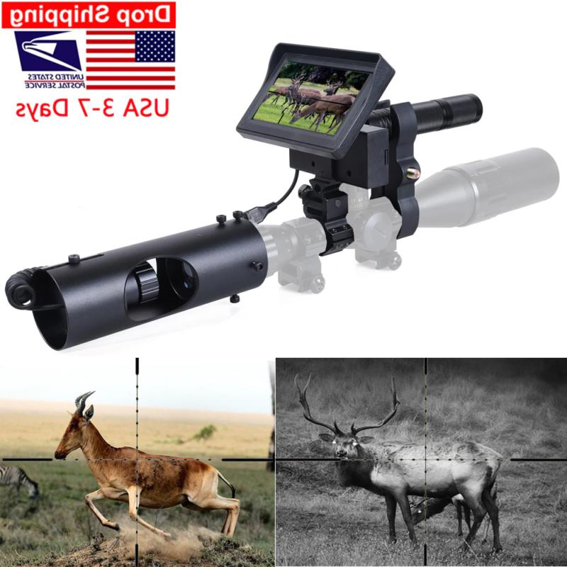 night vision riflescope hunting scopes sight camera