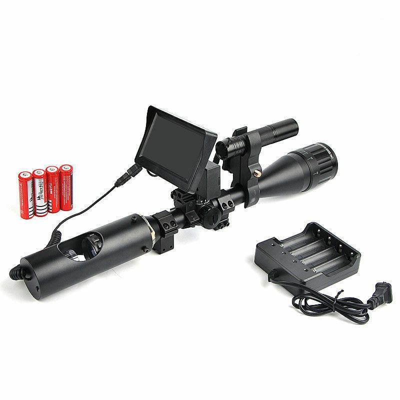 Night Riflescope Hunting Scopes Optics Sight Tactical