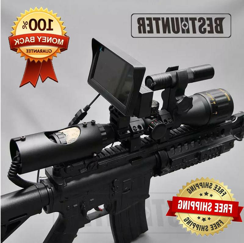 night vision riflescope outdoor hunting scopes optics