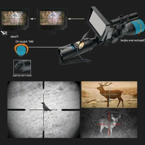 "Night Scope for Rifle Digital 5"" display"