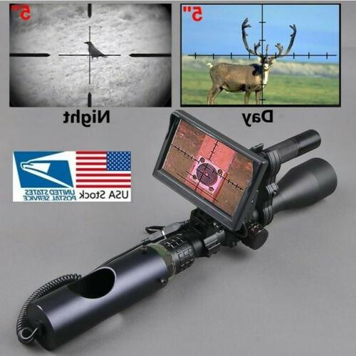night vision scope attachment for rifle hunting