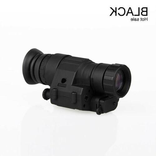Tactical Rifle Hunting Scope Night Vision Helmet Telescope F