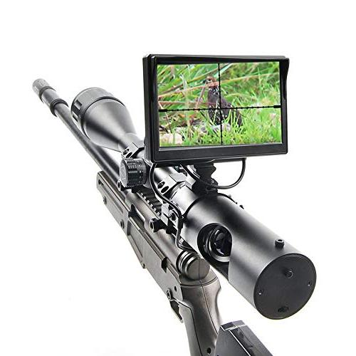 Digital Vision for Rifle Hunting Camera and Display Screen