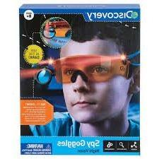 NEW! Discovery Night Vision Spy Goggles - SEE IN THE DARK!