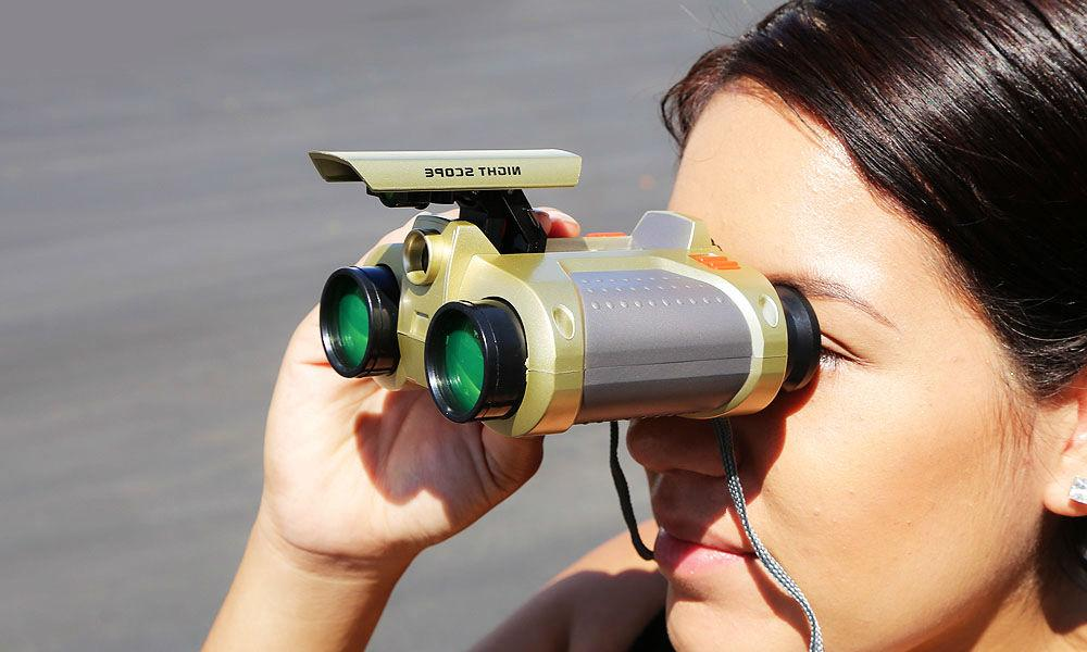 Binoculars Pop-Up Gift Kids