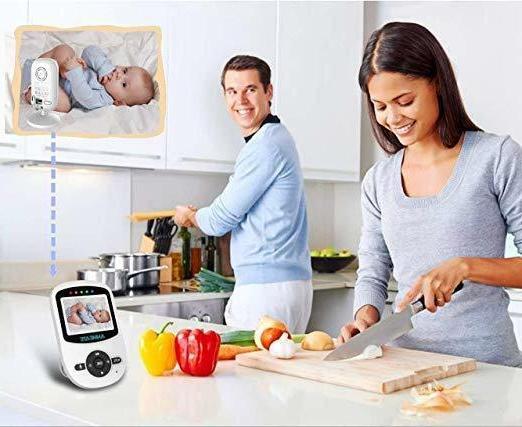 """Night Vision Baby 2.4"""" Monitor Camera 960ft 2-Way"""