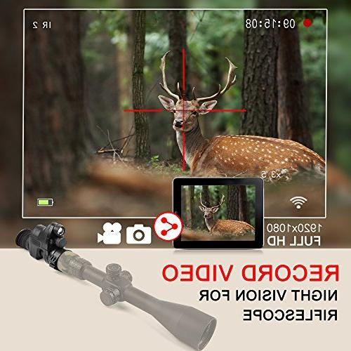 Digital HD WiFi Function Night Vision Including 32G Portable Day&Night Mode Night Vision Multi-Functional