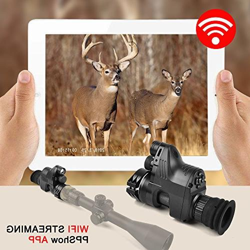 Digital Vision- 1080p HD Function Night Vision Scope Including 32G Day&Night Night Vision or Multi-Functional