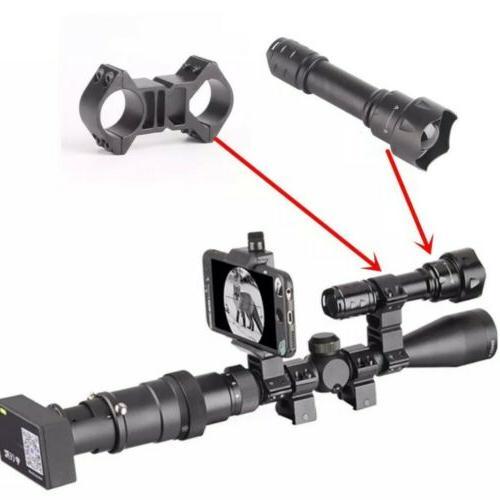 SOLOMARK Night WIFI Camera Flashlight for Rifle
