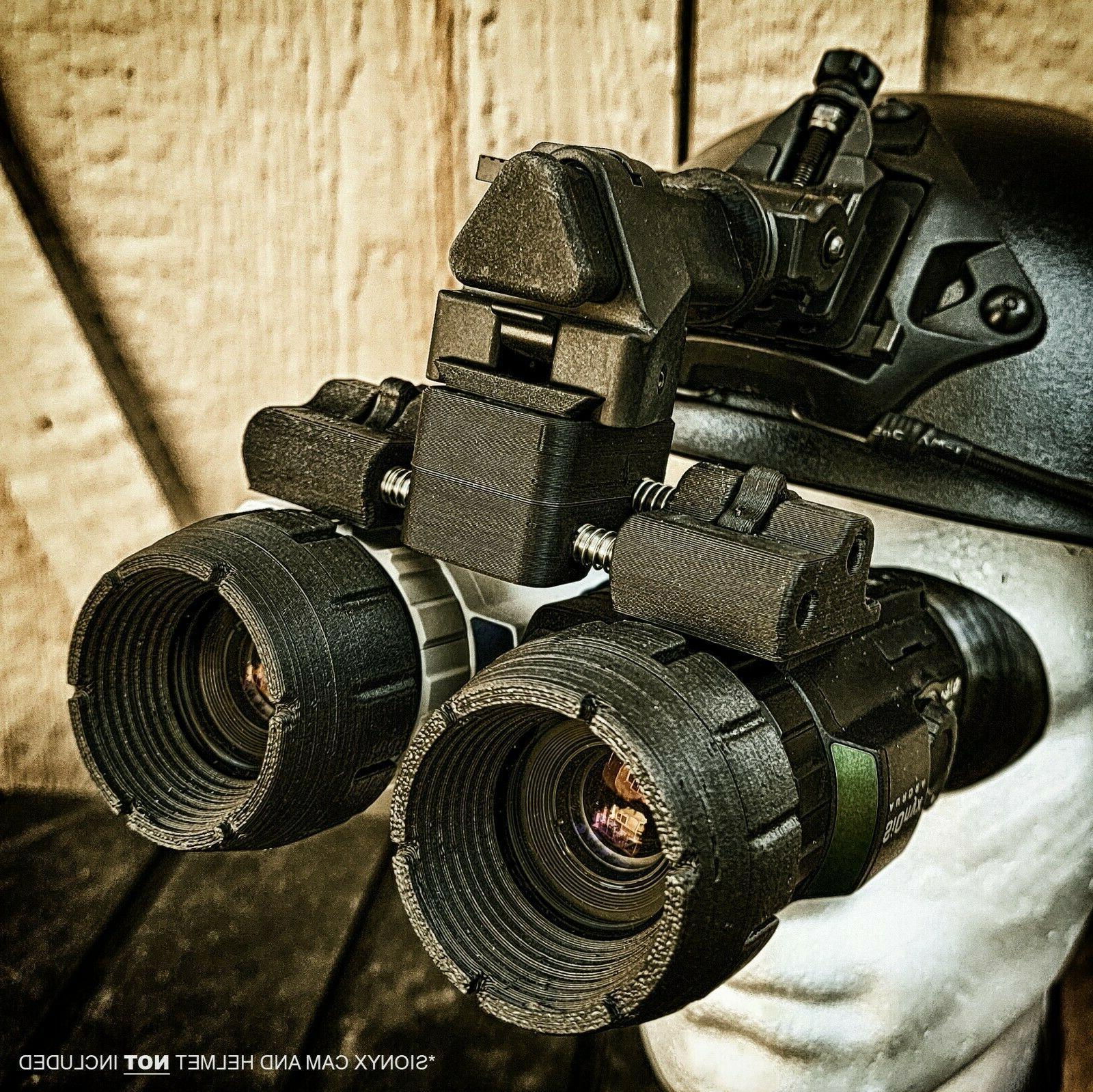 Nightwatch Sionyx Aurora Bridge Helmet Night NVG NODS