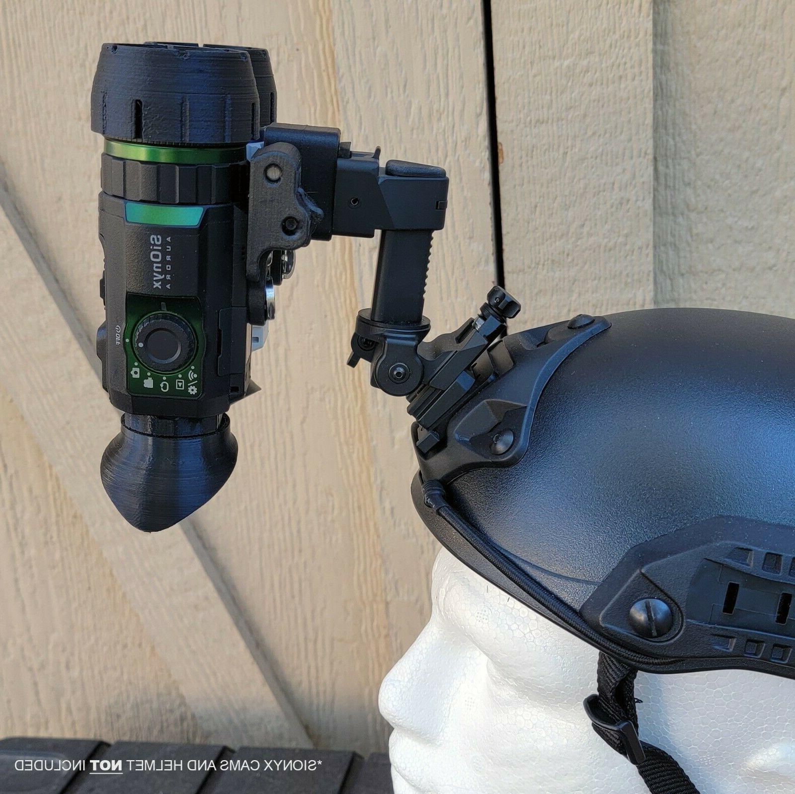Nightwatch Aurora Binocular Bridge Helmet NVG NODS