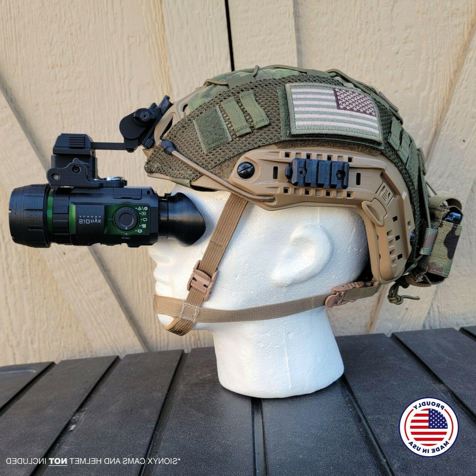 Nightwatch Sionyx Aurora Binocular Bridge Helmet