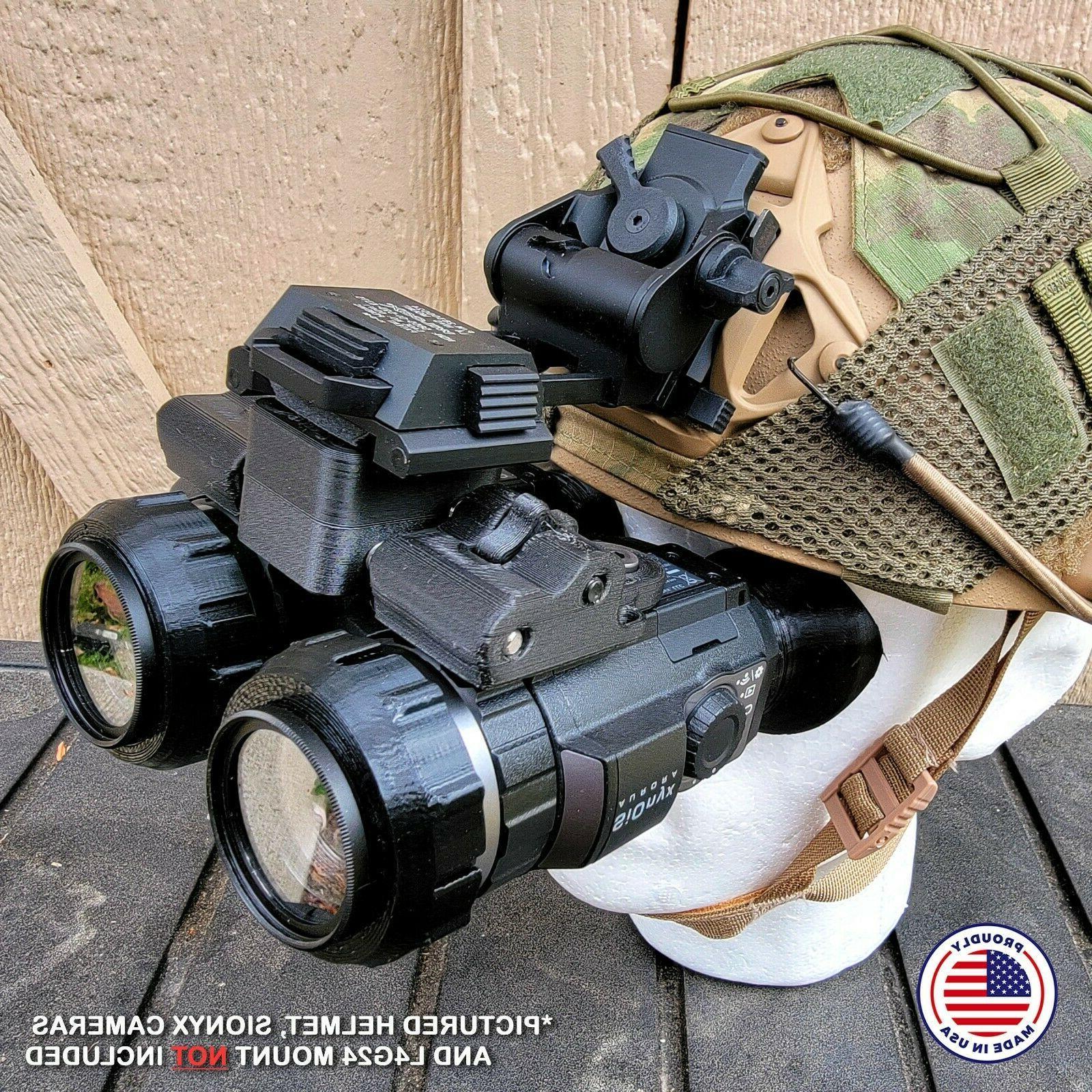 nightwatch sionyx aurora binocular bridge helmet night