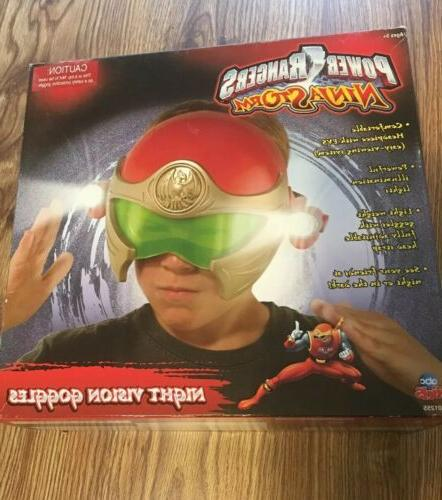 Power Ninja Night Helmet Mask