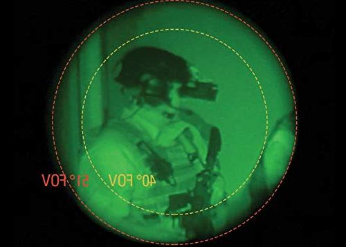 Armasight 3A 3 High-Performance Multi-Purpose 1x Field View, Focus to Infinity, 17 mm Eye Relief
