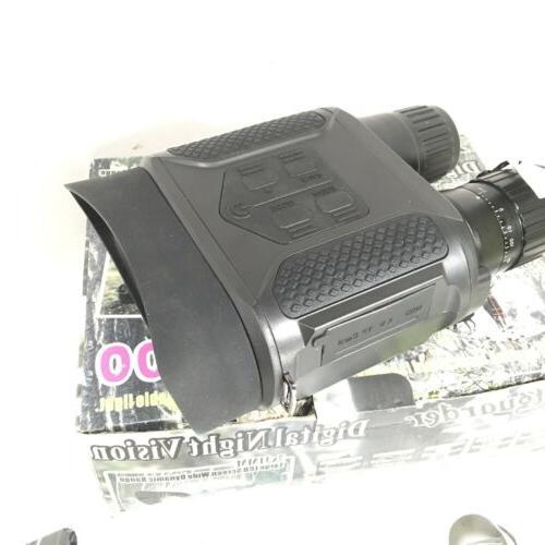 Bestguarder NV-800 7X31mm Digital Night Binocular 2 LCD and