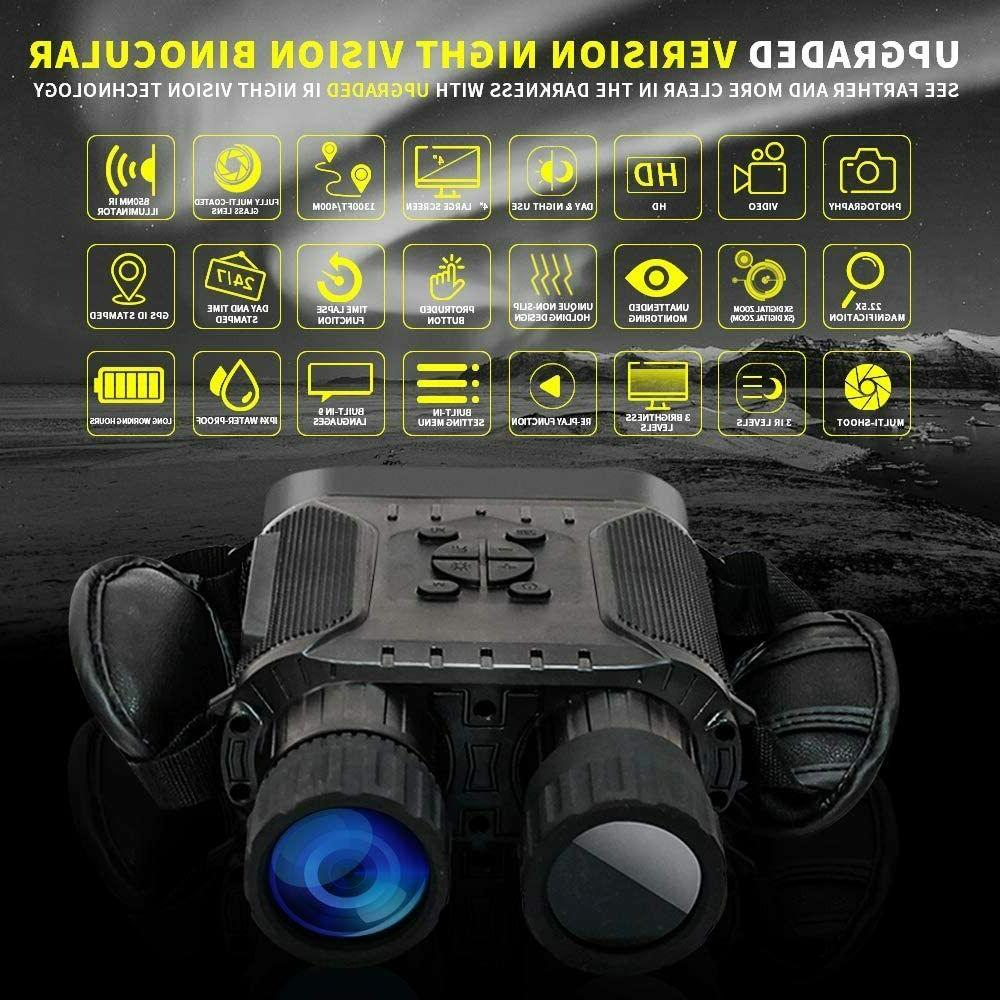 Bestguarder Night Goggles with