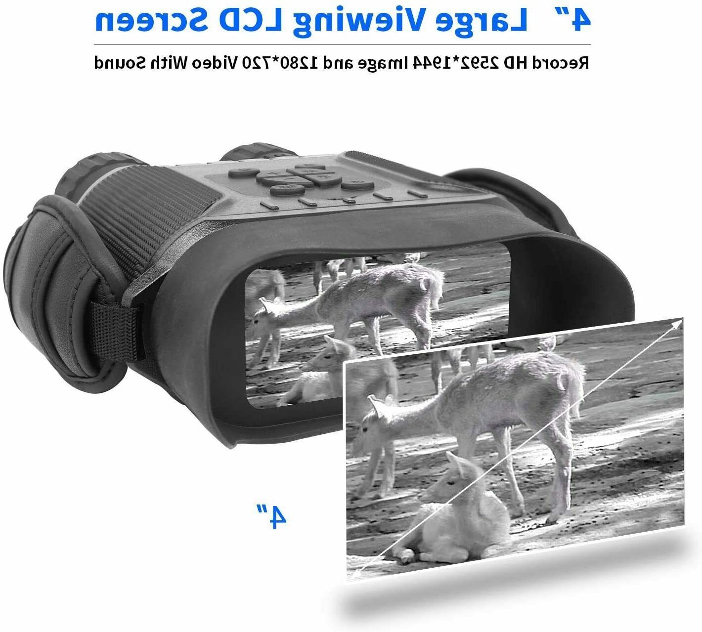 4.5X40mm Digital Binocular Function Takes