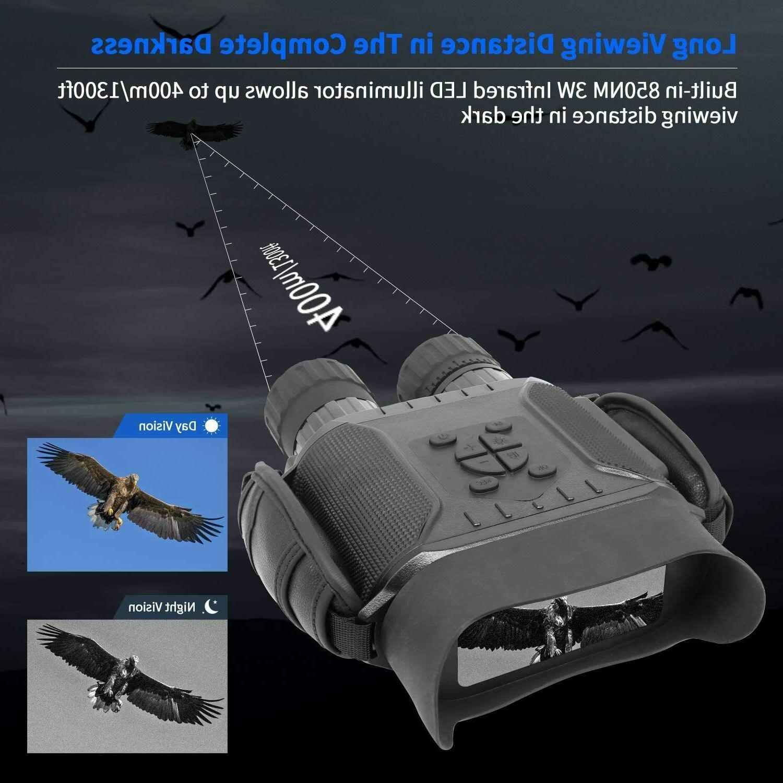 4.5X40mm Night Vision Binocular Time Function Takes