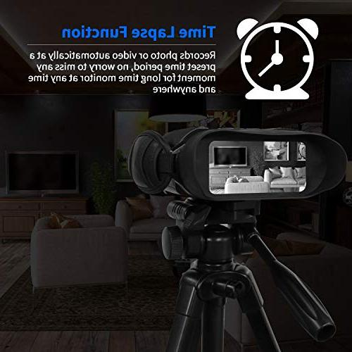 Bestguarder Digital Night Vision with Time Function HD Image Widescreen from in The Dark Memory Card