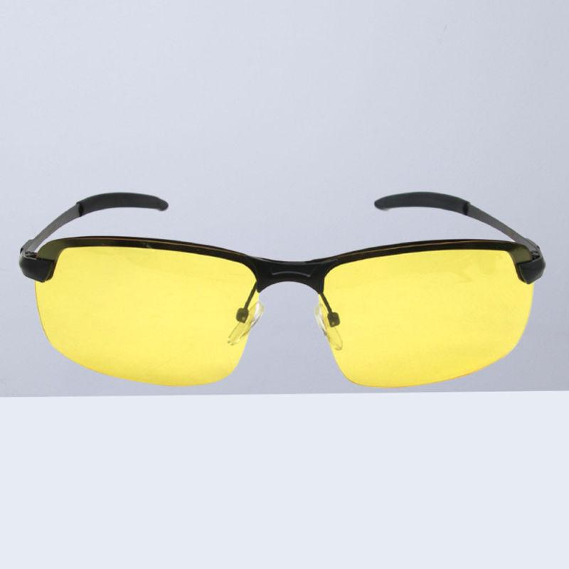 one pair of night driving glasses polarized