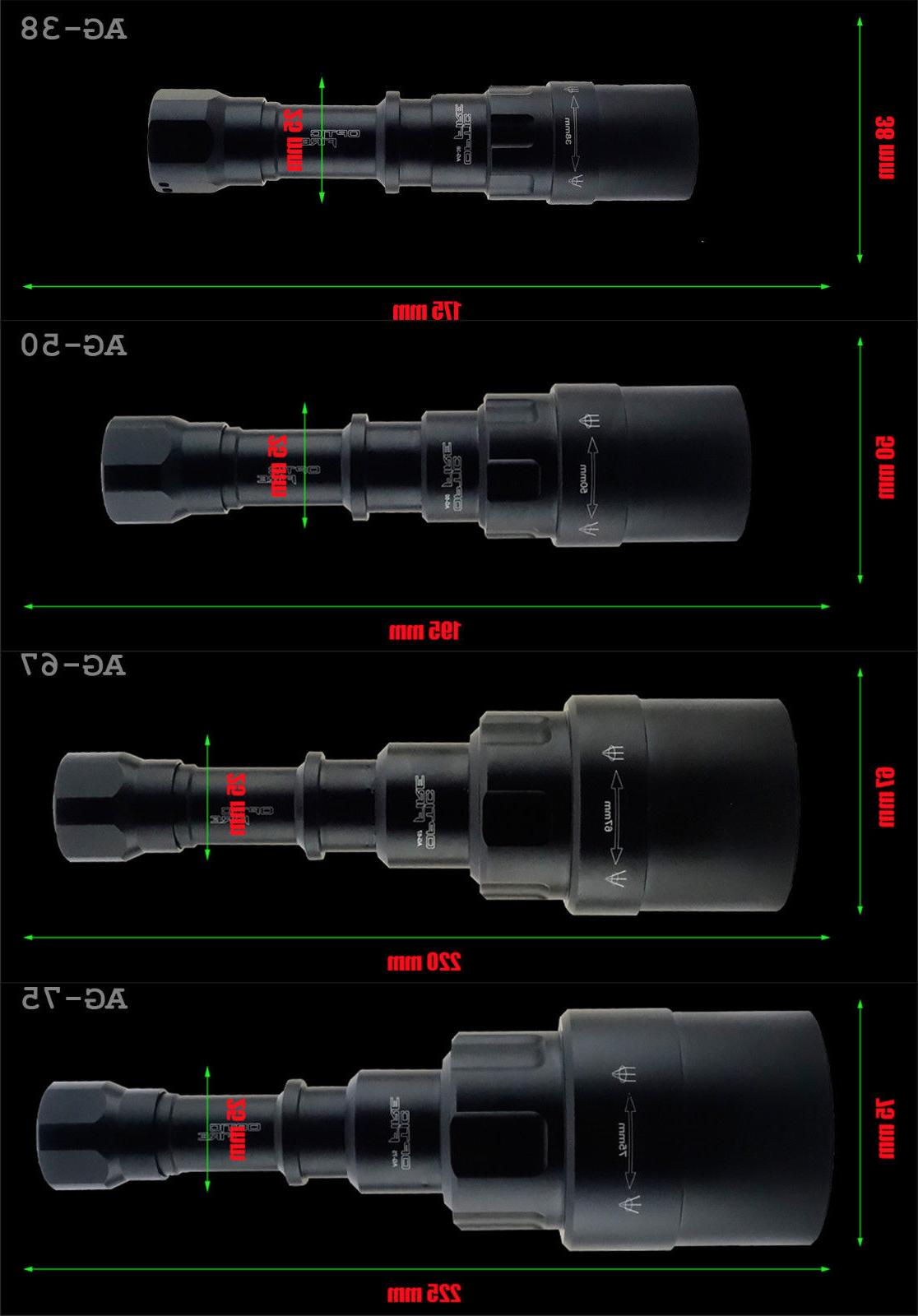 Opticfire® AG LED Hunting torch NV night vision gun light